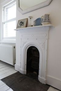 Interior of London Victorian terrace www