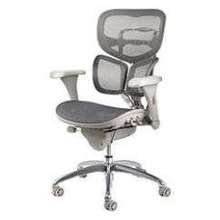 Officemax Ergonomic Chair Stackable Childrens Chairs Workpro Pro-767e Commercial Mesh-back Executive Chair, Gray   Office ...