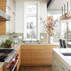Narrow Kitchen Sink How To Build Your Own Cabinets A Tall, Window Above The Offers Views ...