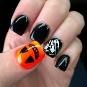 halloween themed nails