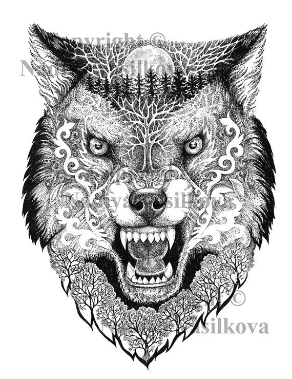 20 Magical Wolf Coloring Pages Ideas And Designs