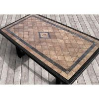 78+ images about Tile Top Patio Table on Pinterest | Tile ...