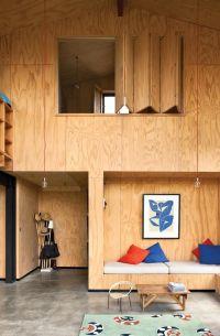 Plywood bi-fold doors | Remodelista: Interior Design, Idea ...