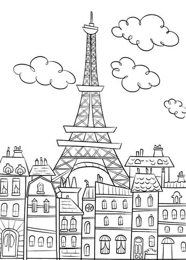 25+ best ideas about Eiffel tower drawing on Pinterest
