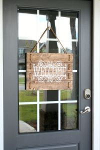 25+ best ideas about Front Door Signs on Pinterest ...