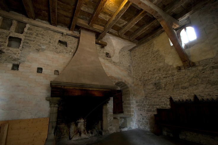 Image Detail For Medieval Fireplace Castle Chillon