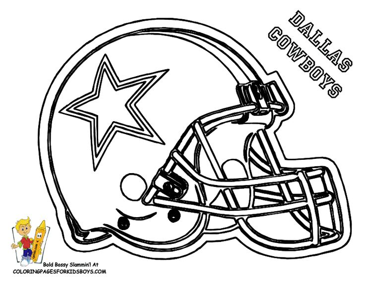 09_Dallas_Cowboys_football_coloring_at_coloring-pages-book