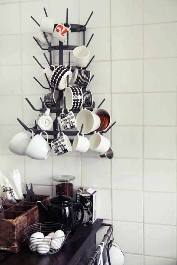 wallmounted coffee mug tree Coffee Objects Pinterest