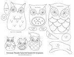 108 best OWLS PATTERNS & TEMPLATES images on Pinterest