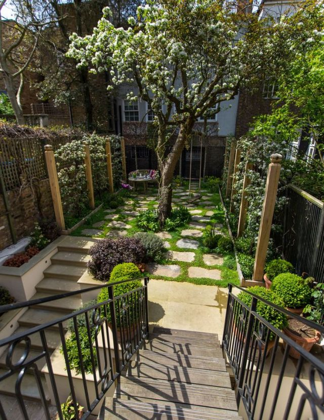 Small Gardens on Pinterest | Small garden design, Contemporary gardens ...