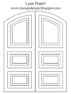 Download template for double door: http://www.mediafire