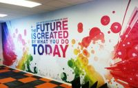 Nice wall mural! www.SpeedproSilverSpring.com | Floors ...