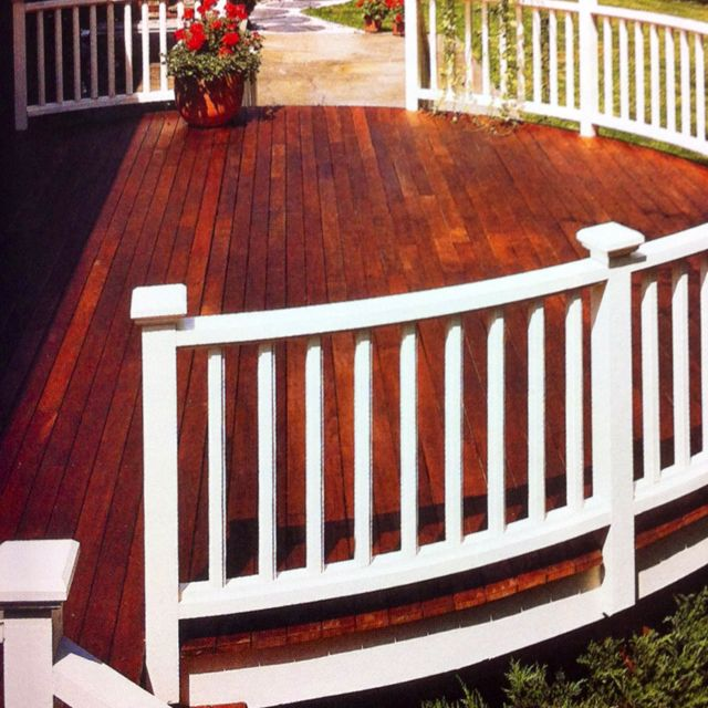 Deck Railing Paint Ideas