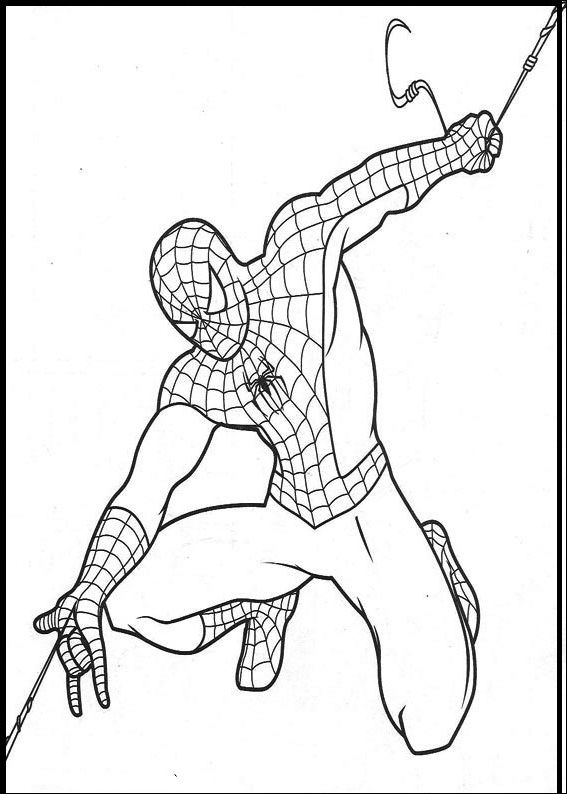 48 best images about Spider-Man Coloring Pages on