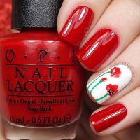 17 Best ideas about Red Nails on Pinterest | Red nail ...