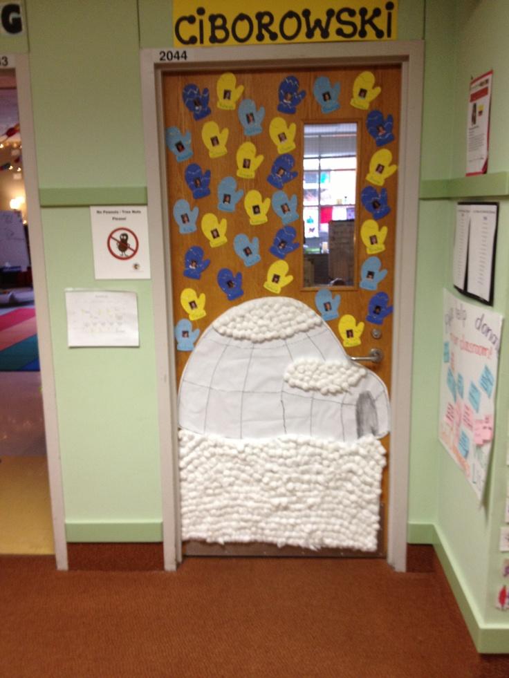 Igloo Classroom Door Decorations