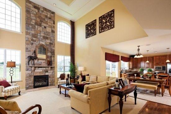 K Hovnanian Model Homes Interiors Thumbnail 2 Story Family Room Pinterest Models Home