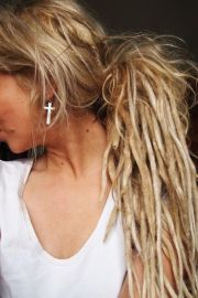 ideas partial dreads