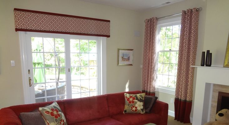 contemporary curtains for living room wooden furniture straight cornice board with modern fabric | home : kitchen ...