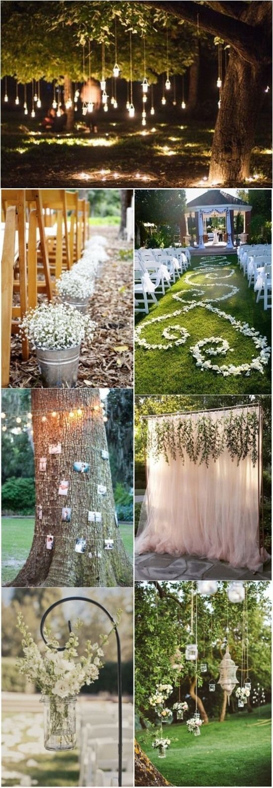 25 Best Ideas About Outdoor Wedding Aisles On Pinterest Outdoor