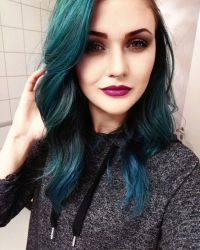 25+ best ideas about Blue hair balayage on Pinterest