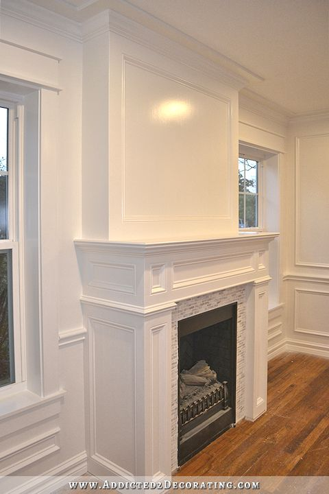 17 Best ideas about Picture Frame Wainscoting on Pinterest