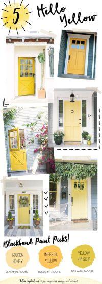 25+ best ideas about Yellow doors on Pinterest | Yellow ...