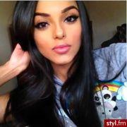beautiful black hair & makeup