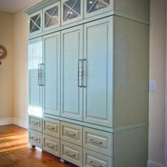 Free Standing Kitchen Cupboards Oil Dispenser Love This For A Stand Alone Pantry | The Home ...