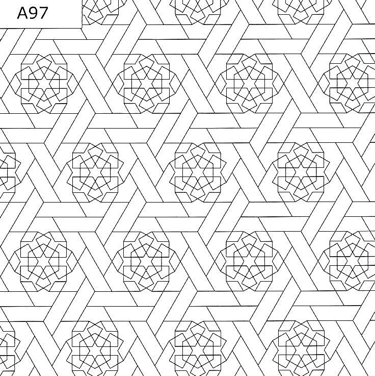 Moroccan Tile Coloring Page Free Printable Coloring Pages
