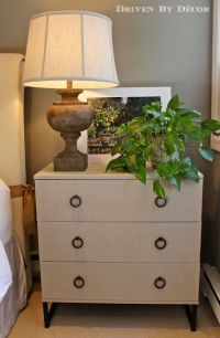 IKEA Hack: Fabric Covered TRYSIL Chest | Fabric covered ...
