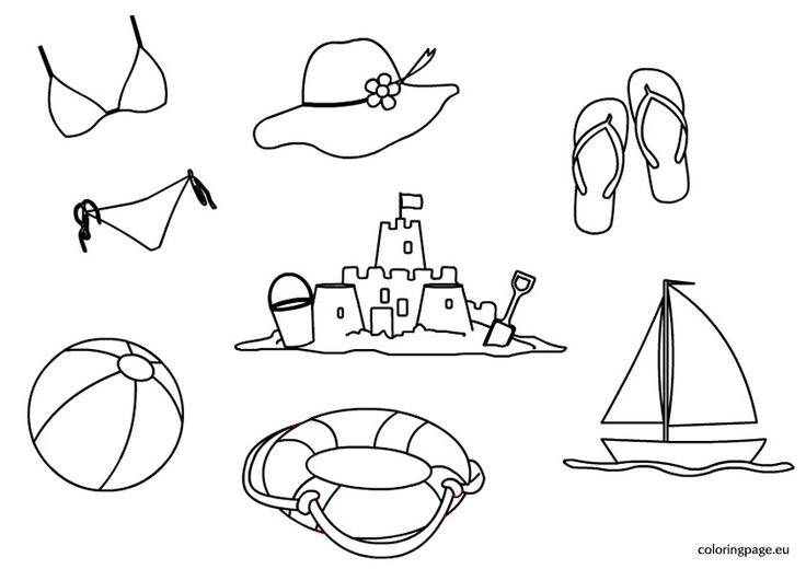 1000+ ideas about Summer Coloring Pages on Pinterest