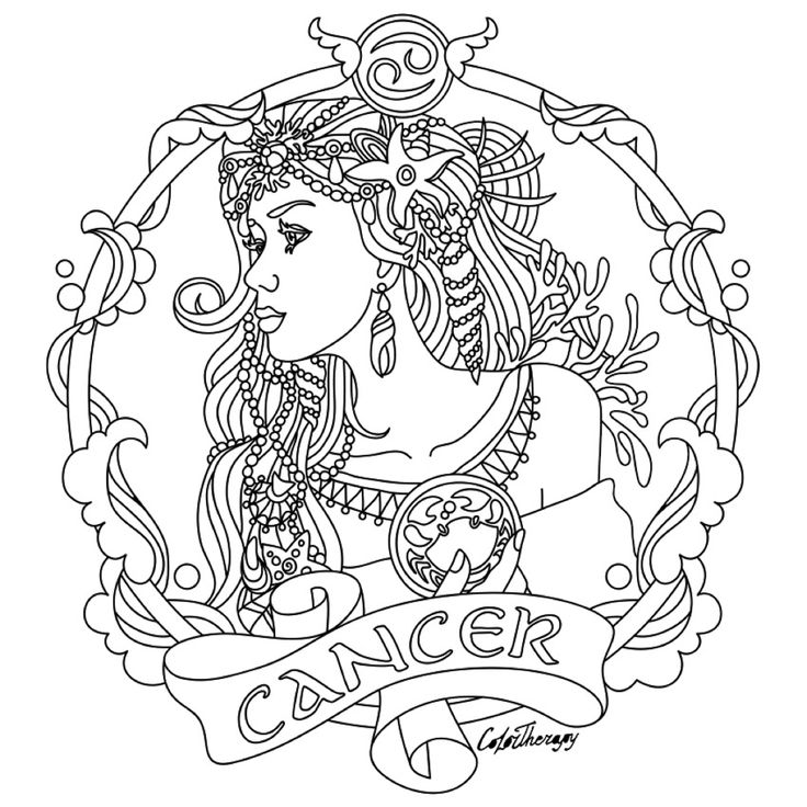 Art Therapy Coloring Page Astrology Leo 5