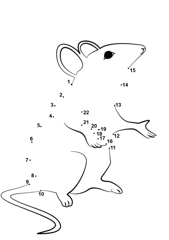 Connect Numbers Worksheets, Kids Learning Worksheets, Fun