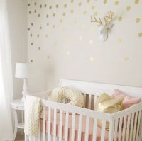 pink and gold nursery!