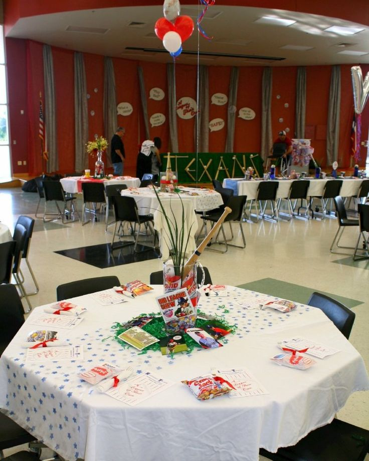 17 Best Images About Baseball Banquet On Pinterest
