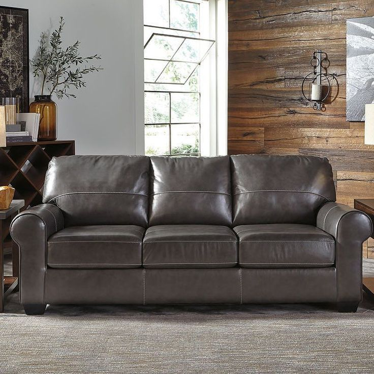 1000 ideas about Ashley Leather Sofa on Pinterest