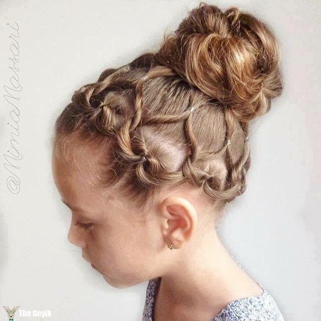 Best 25 Girls Braided Hairstyles Ideas On Pinterest Hairstyles