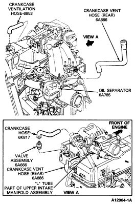 1990 23 liter ford motor diagram | 1990 ford ranger: me