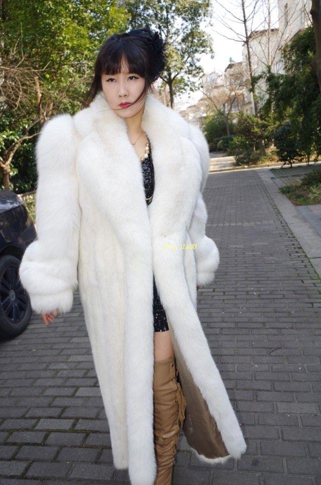 17 Best images about Fur on Pinterest  Coats Silver