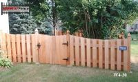 4 Foot High Wood Private Fences | Minneapolis St. Paul ...