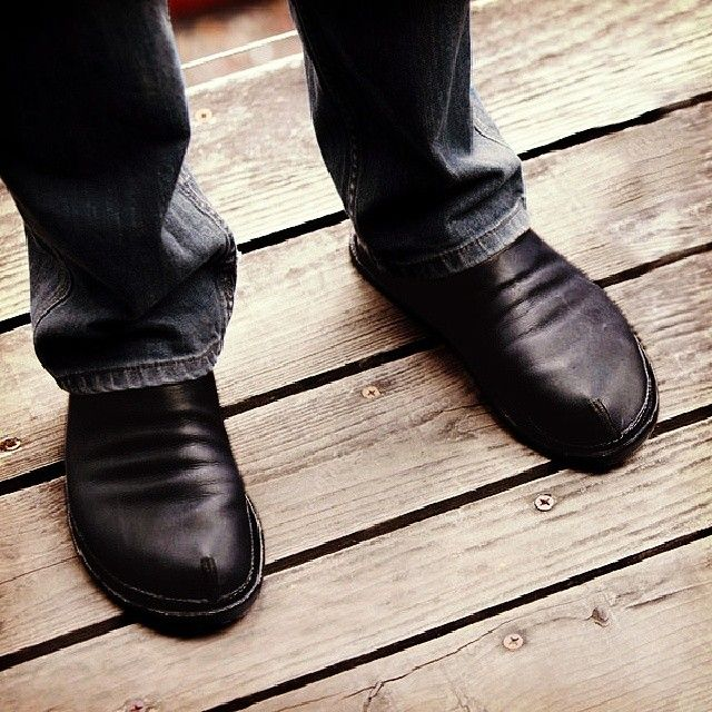 Rogue casual shoes by Soft Star in rustic aged black