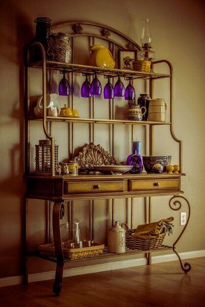 25 Best Bakers Rack Decorating Ideas On Pinterest Nice