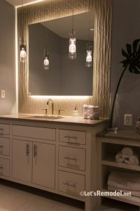 25+ best ideas about Backlit mirror on Pinterest | Modern ...