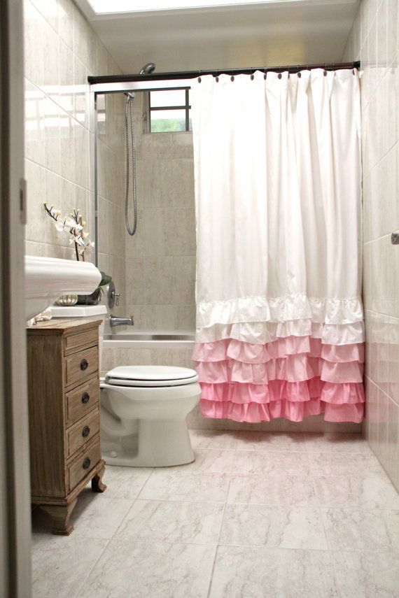 25 Best Ideas About Pink Shower Curtains On Pinterest Classic