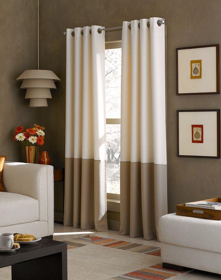 25 Best Ideas About Color Block Curtains On Pinterest Diy