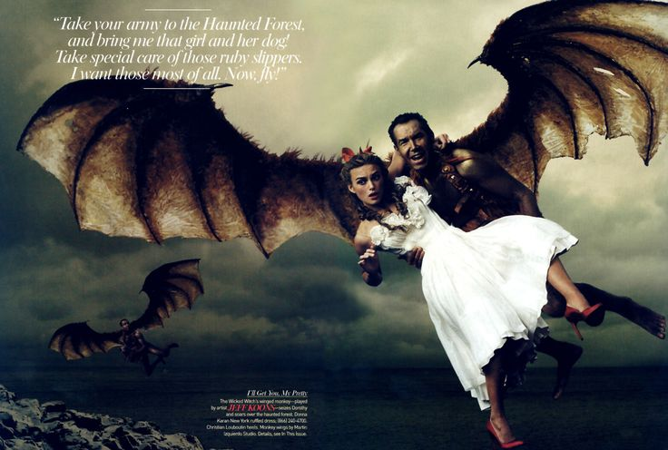 Wizard of Oz © Annie Leibovitz