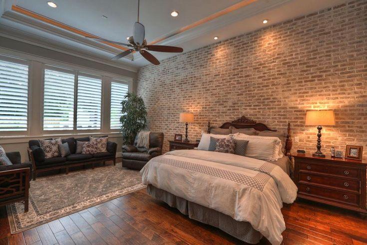 Love The Brick Wall Bedroom Loving Pinterest