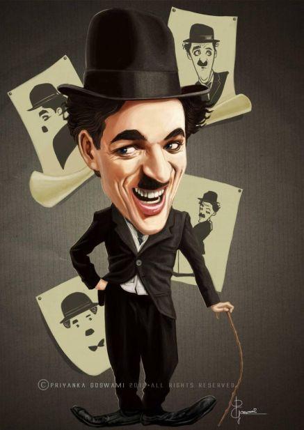 As 16 Melhores Caricaturas De Charles Chaplin Notaterapia