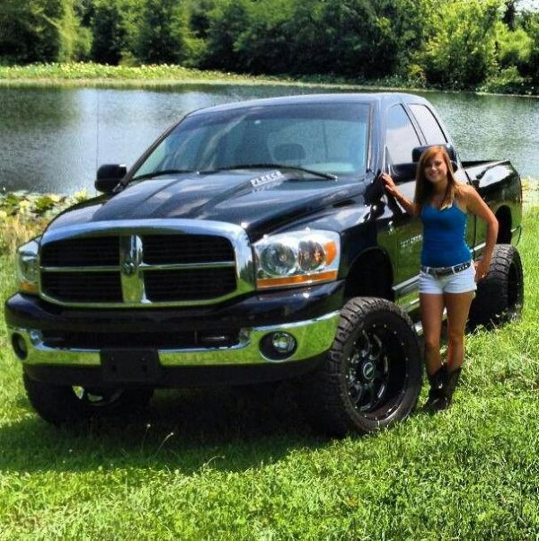 1000 images about Girls and trucks on Pinterest Chevy